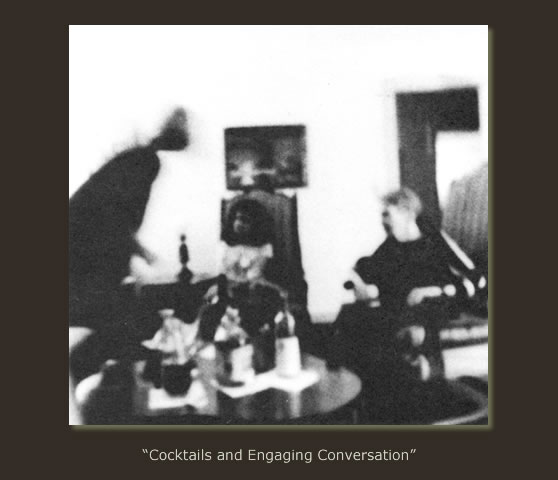 """Cocktails and Engaging Conversation"""